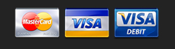 Credit and Debit card Logo